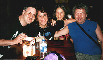Fritz, Leslie, Joanne and David at the Mohegan Sun